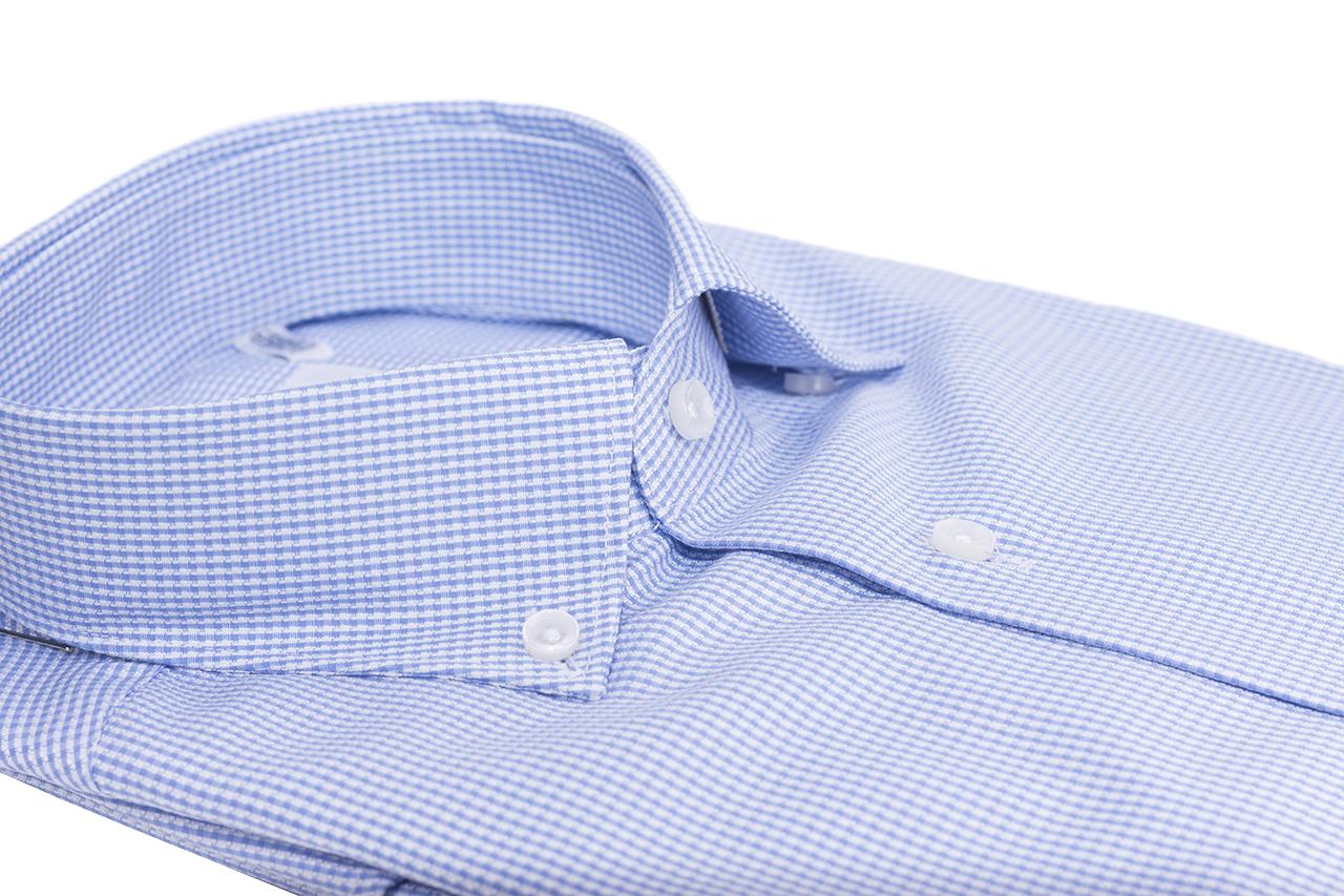 c3f86fde light blue shirt pure oxford cotton two ply - Cerri Camiceria